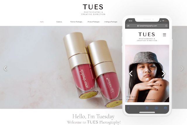 Tuesday Photography Website